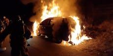 Telfser Feuerteufel fackelt viertes Auto ab