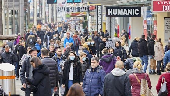 Österreichs Bevölkerung wächst nur durch Zuwanderung.