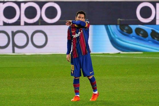 Lionel Messi schießt gegen den Griezmann-Berater zurück.