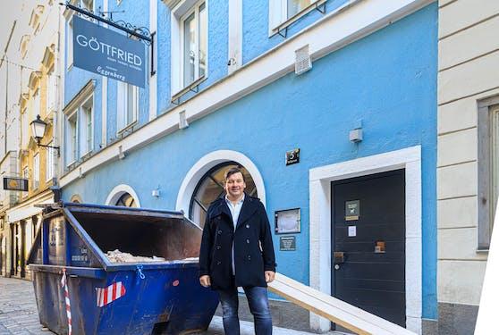"""Im Lockdown wird beim bekannten Altstadt-Restaurant """"Göttfried"""" groß umgebaut."""