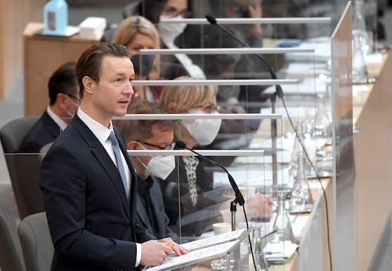 Finanzminister Gernot Blümel (ÖVP).