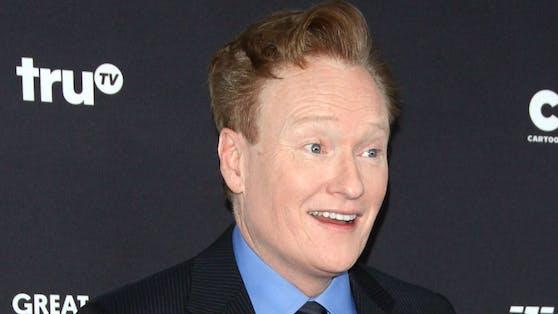 """Im Laufe seiner TV-Karriere moderierte Conan O'Brien die erfolgreichen Formate """"Conan"""", """"Late Night with Conan O'Brien"""" und """"Tonight Show with Conan O'Brien""""."""