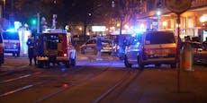 """Bei Live-Report: """"Da rennt jemand mit Maschinengewehr"""""""