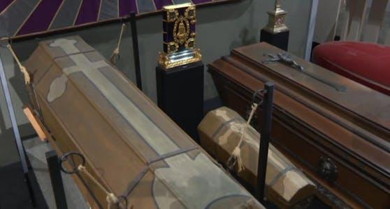 Das Bestattungsmuseum Wien gibt spannende Einblicke in die Traditionen am Zentralfriedhof.