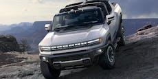 Der Hummer kehrt 2021 als Elektro-Pickup zurück