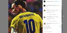 Verrät Ibrahimovic hier sein Schweden-Comeback?