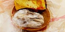Mann scheitert mit lauwarmem Kokain-Burger an der Grenze