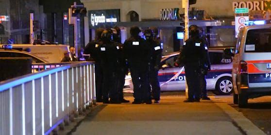 In der Wiener Innenstadt kam es zu einer Schießerei.