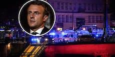"""Macron in Richtung Wien: """"Wir werden nicht nachgeben!"""""""