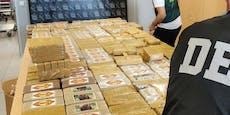 Polizei nimmt Drogen-Bande mit halber Tonne Koks hoch