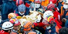 Dreijährige nach 65 Stunden aus Trümmern gerettet