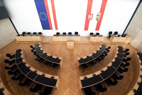 Der Gemeinderatssaal wird nun lange Zeit verlassen sein.