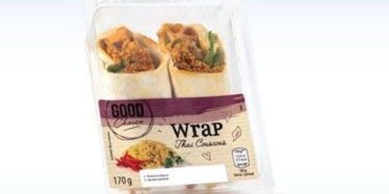 """Hofer ruft den """"Good Choice Wrap Thai Couscous von Wojnar's Wiener Leckerb. GmbH"""" zurück."""