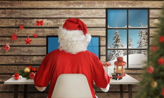 Auch der Nikolaus geht mit der Zeit, heuer verschickt er Videogrüße.