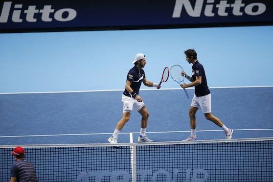 Jürgen Melzer und Edouard Roger-Vasselin stehen im Halbfinale.