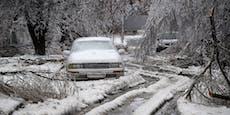 Notstand! Tödlicher Eisregen legt Osten Russlands lahm