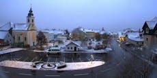 Kaltfront zieht durch: Hier liegt schon Schnee