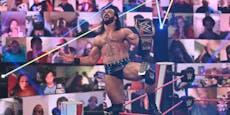 """WWE-Champion McIntyre: """"Nackt ohne meinen Titel!"""""""
