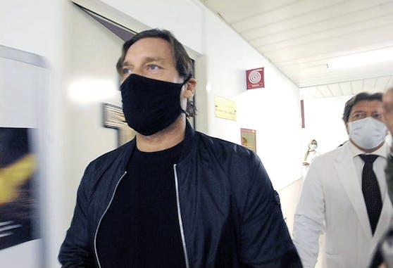 Francesco Totti hat seine Corona-Infektion überstanden.
