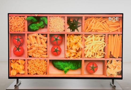 BOE stellt weltweit erstes 55-Zoll-UHD-AMQLED-Display vor.