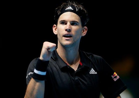 Dominic Thiem steht im Finale der ATP Finals.