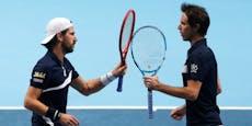 Melzer verpasst in Krimi die Krönung bei den ATP-Finals