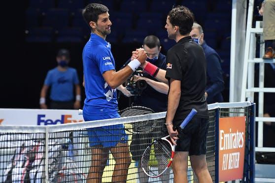 Dominic Thiem hat gegen Novak Djokovic Geschichte geschrieben.