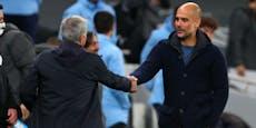 Mourinho gewinnt das Trainer-Duell gegen Guardiola