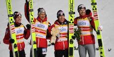 ÖSV-Adler starten mit Sieg im Teambewerb in die Saison