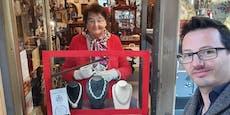 Wiener Juwelier verkauft Schmuck im Drive-In