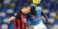 Milan-Star Ibrahimovic trifft doppelt und verletzt sich