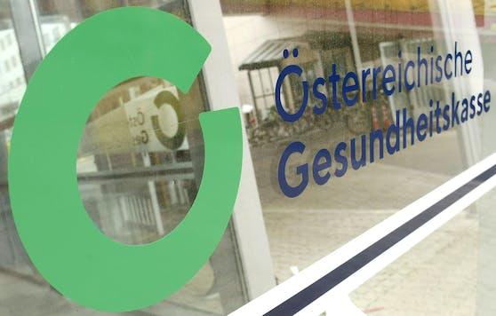 Das Logo der Österreichischen Gesundheitskasse (ÖGK)