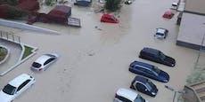 Schwere Unwetter setzen Süditalien unter Wasser