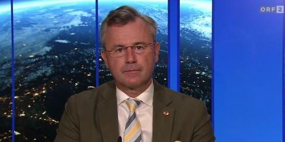 FPÖ-Chef Norbert Hofer wurde im November positiv auf das Coronavirus getestet.