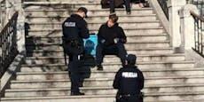 Maske abgenommen, um Burek zu essen - 400 Euro Strafe