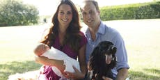 William und Kate trauern um Familienhund Lupo