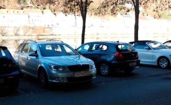 In Passau wurden am Samstag mehrere Autos mit Kennzeichen aus OÖ gesehen.