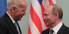 Putin bietet Biden Zusammenarbeit an