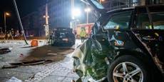 SUV erfasst mehrere Menschen - zwei Tote
