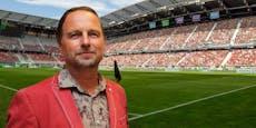 Klagenfurter Stadion-Macher stirbt am Coronavirus