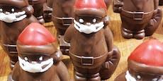 Zuckerbäcker sorgt mit Masken-Nikolos für Kontroverse