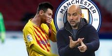 Zu alt, zu teuer? Guardiola steigt aus Messi-Poker aus