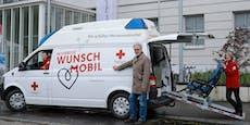 Rotes Kreuz erfüllt Sterbenden ihre letzten Wünsche