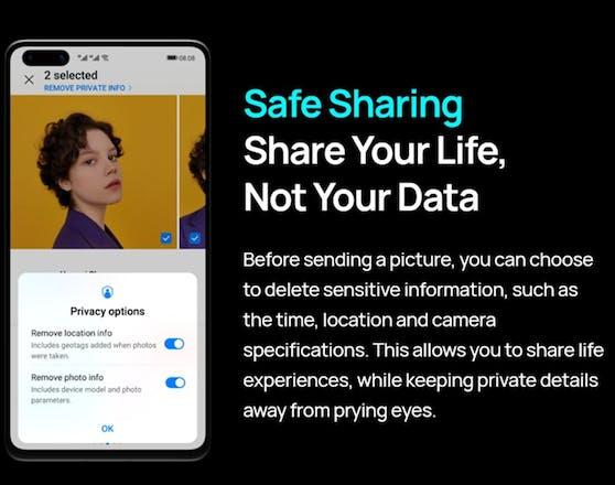 Huawei arbeitet unermüdlich daran, die Privatsphäre seiner Nutzer bestmöglich zu schützen.
