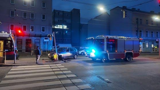 Unfall in Wien-Simmering