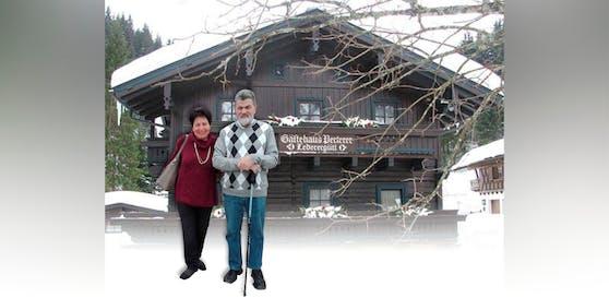 Paul Perterer mit Ehefrau Ingrid und die Pension