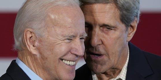 Der gewählte US-Präsident Joe Biden holt den ehemaligen US-Außenminister John Kerry in sein Team