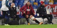 Milan-Star Ibrahimovic muss Zwangspause einlegen