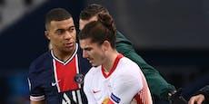 Sabitzer verschuldet Elfer: PSG gelingt 1:0-Revanche