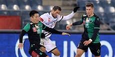 1:0! Sturm Graz quält sich ins ÖFB-Cup-Viertelfinale